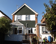 Detached property near West Mersea